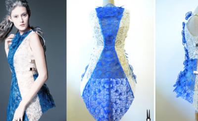 VIDÉO. Stylo 3D, une robe prend forme sous vos yeux