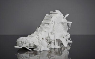 Sculpture 3D Converse par Damilola Odusote