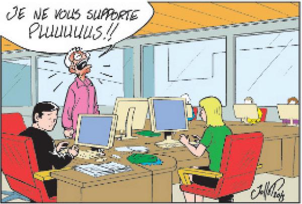 L'intimité au bureau, une notion encore abstraite…