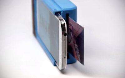 VIDÉO. Cet étui pour smartphone vous permet d'imprimer une photo instantanément
