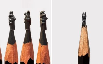 On adore : Carving Pencil par Salavat Fidai !