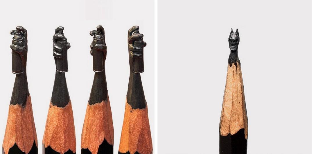 On adore : Carving Pencil par Salavat Fidai !