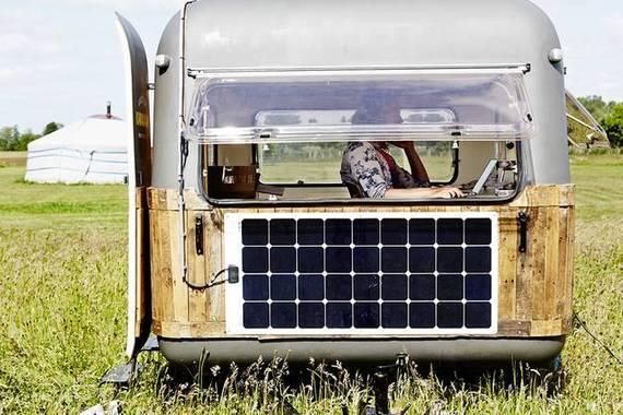 Bureau caravane