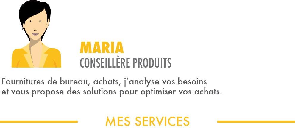 Maria conseillère produit