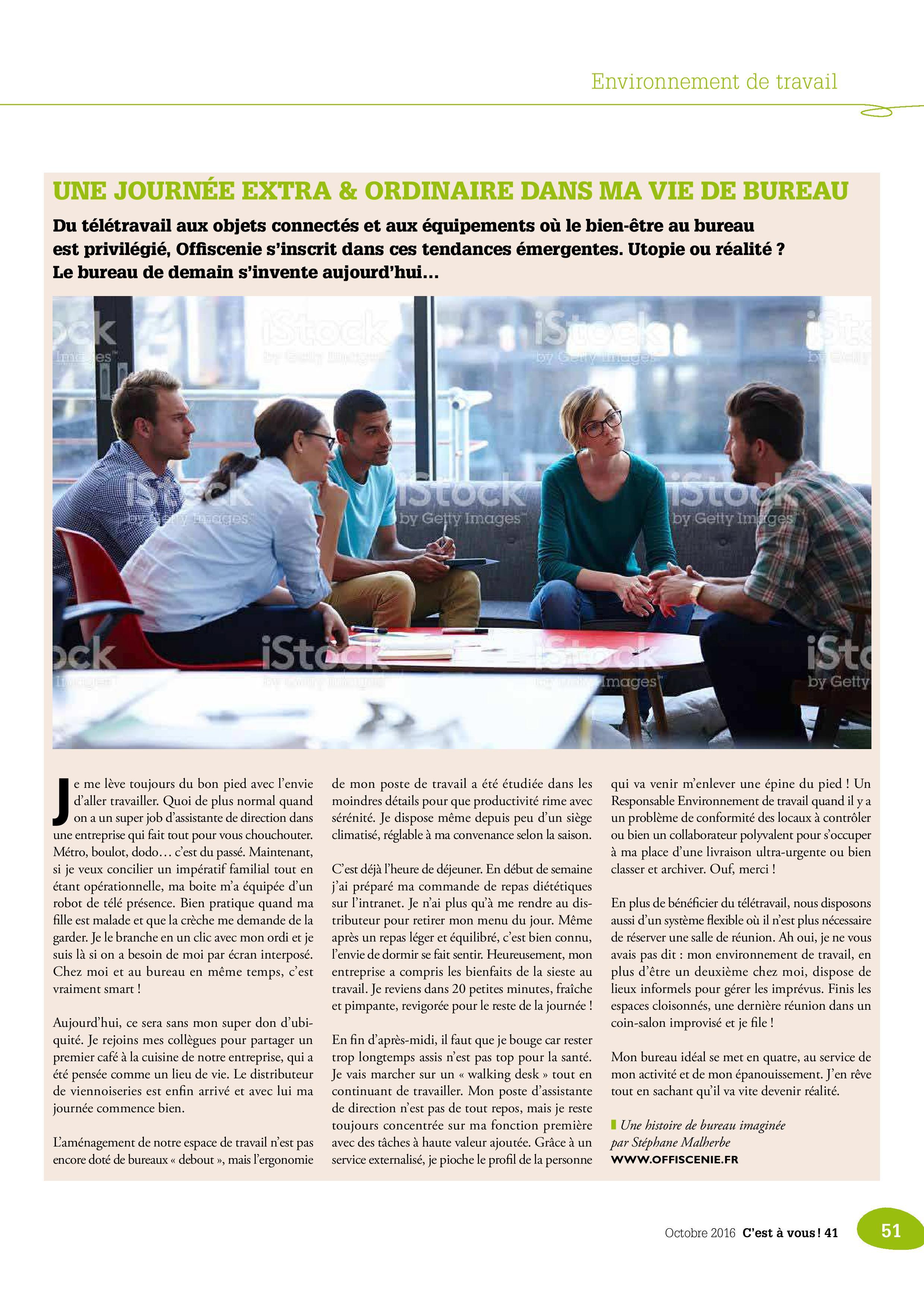 C'est à vous n°41 interview stéphane Malherbe page 2