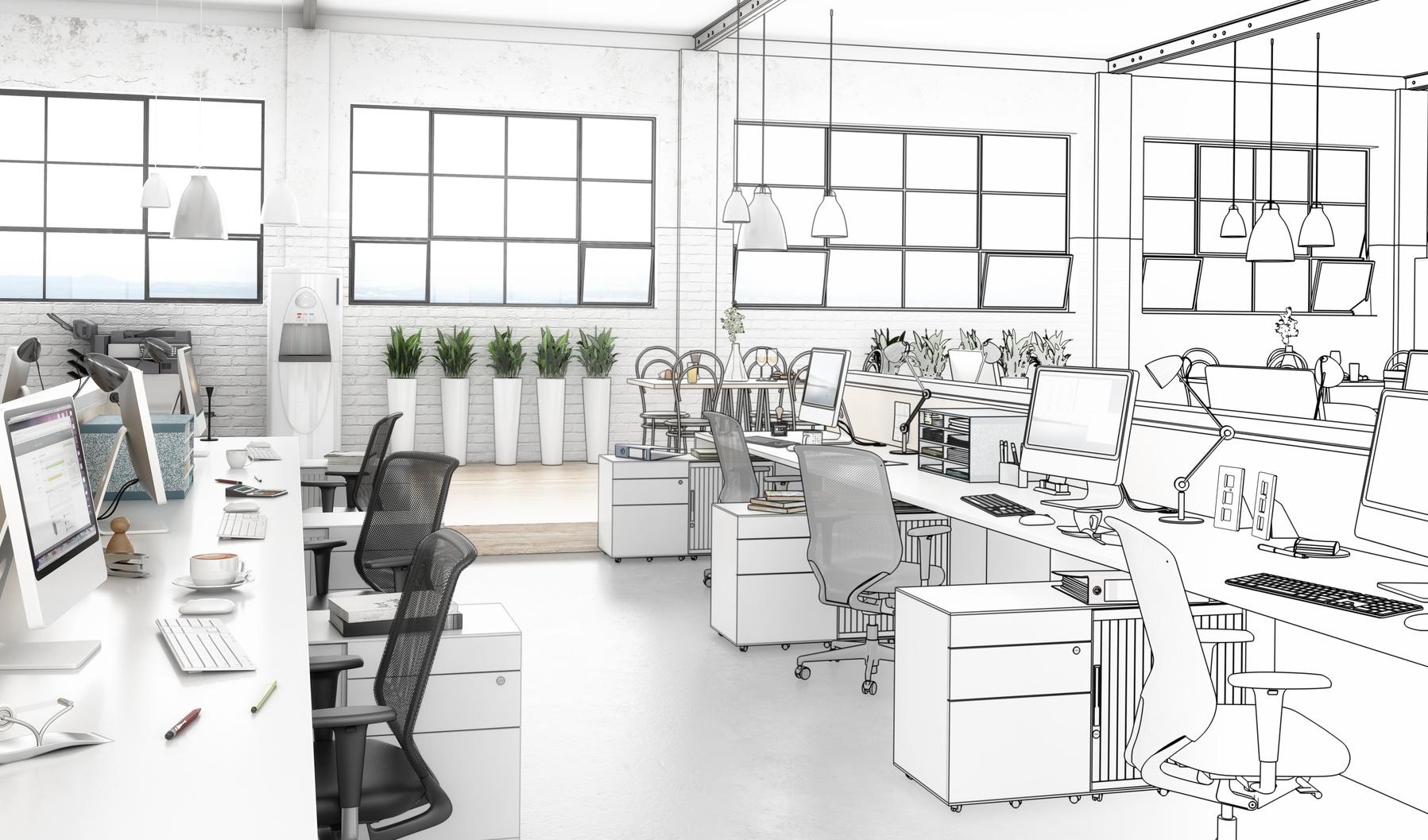 L'aménagement de vos bureaux… Pièce par pièce