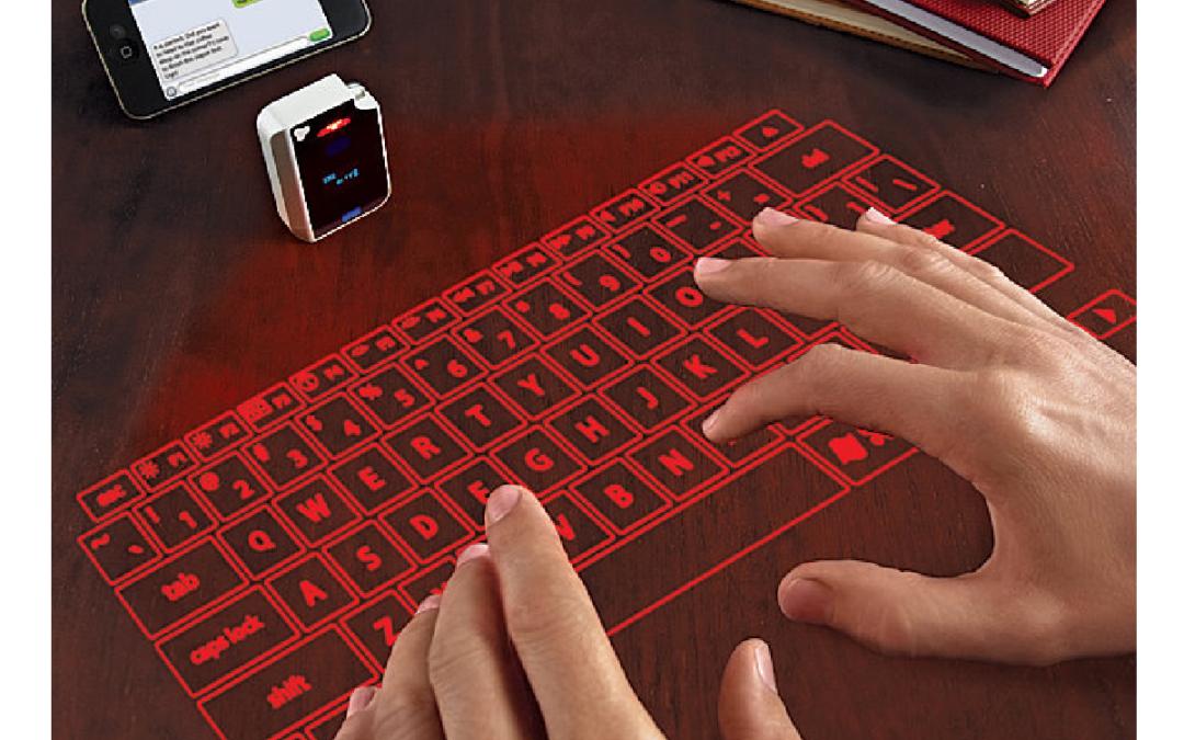 Clavier virtuel laser : le futur au bout des doigts