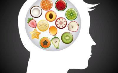 Les fruits de l'alimentation sur le cerveau