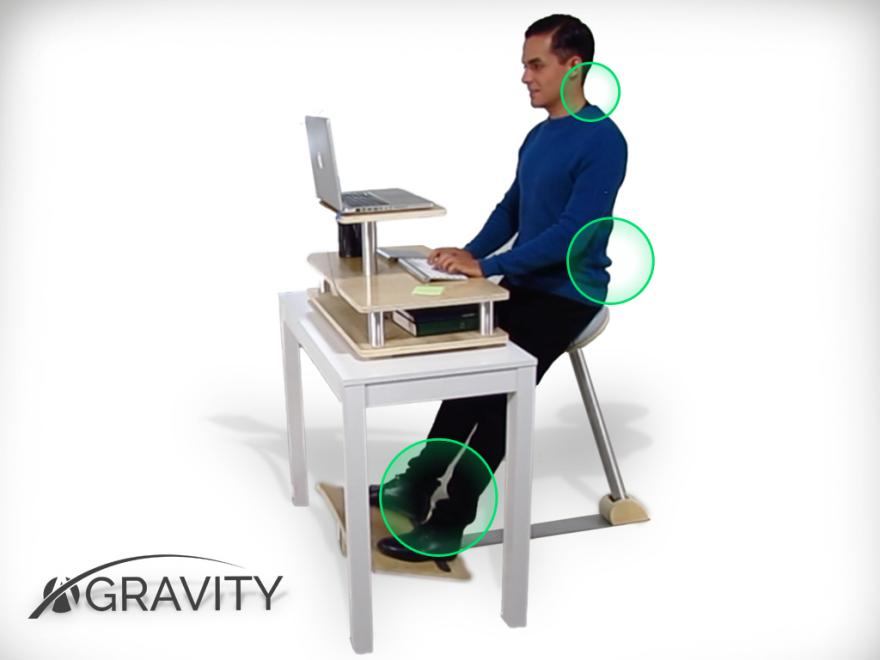 Ni assis, ni debout, voici A-Gravity