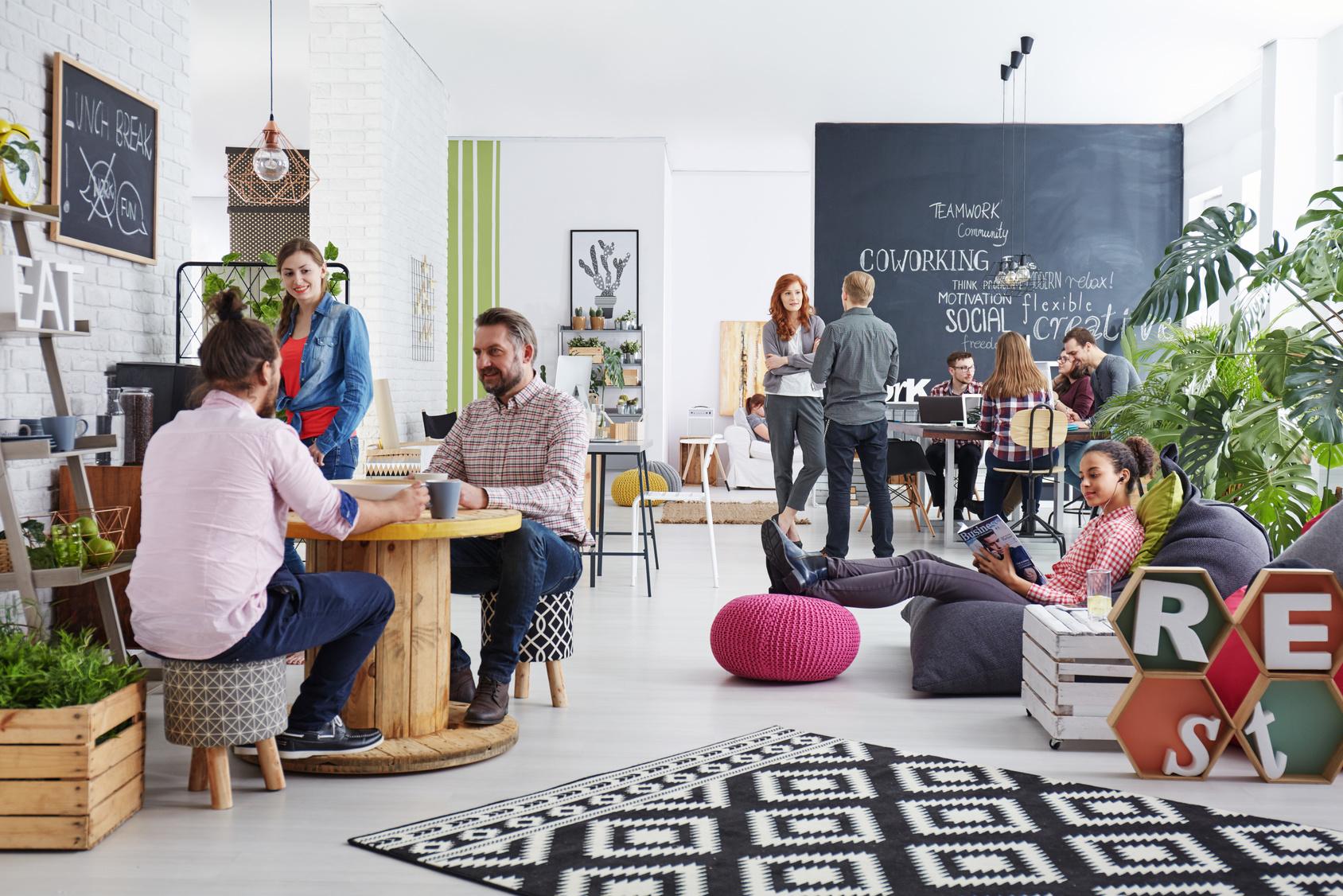Un espace de travail bien aménagé favorise le bien etre