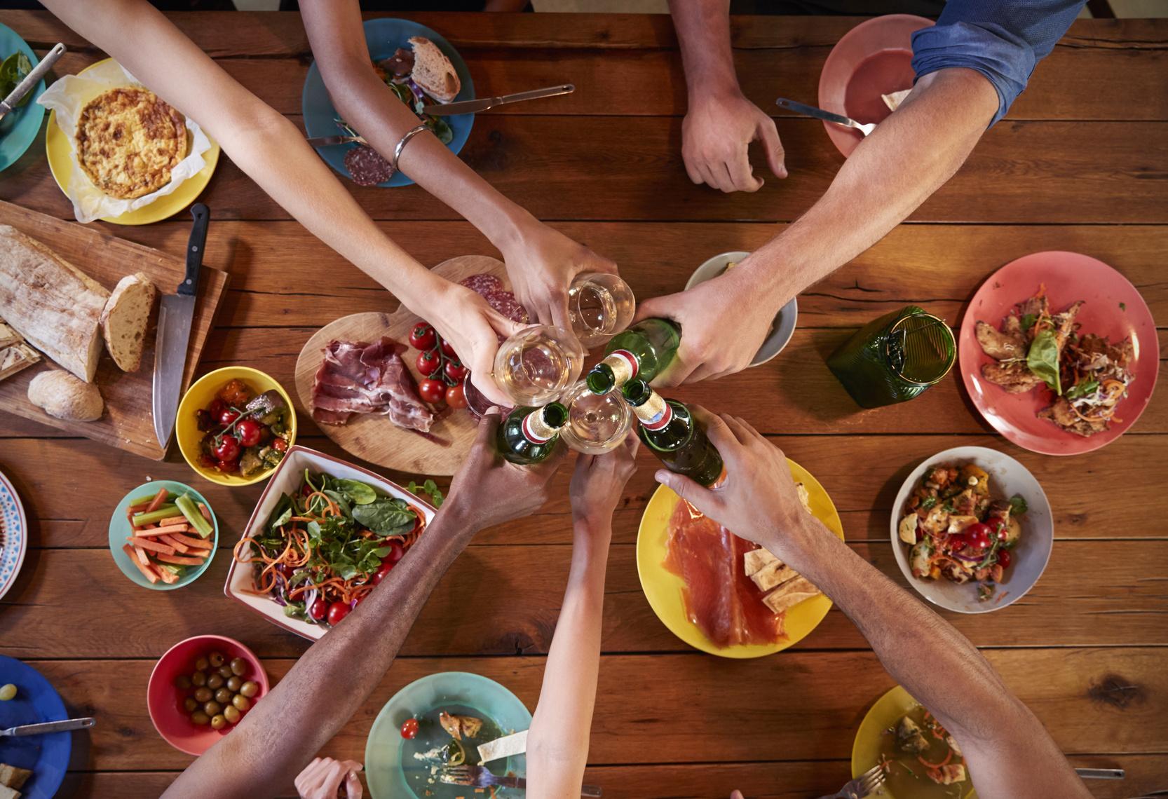 Un déjeuner pour améliorer les relations entre les collaborateurs