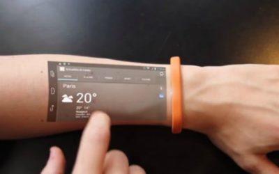 Cicret : un bracelet qui transforme votre peau en écran tactile