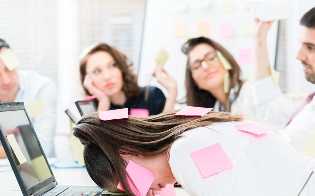 Savez vous ce que cache la phrase « je suis débordé » au bureau ?