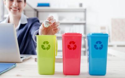 3 étapes pour gérer et réduire les déchets de l' entreprise