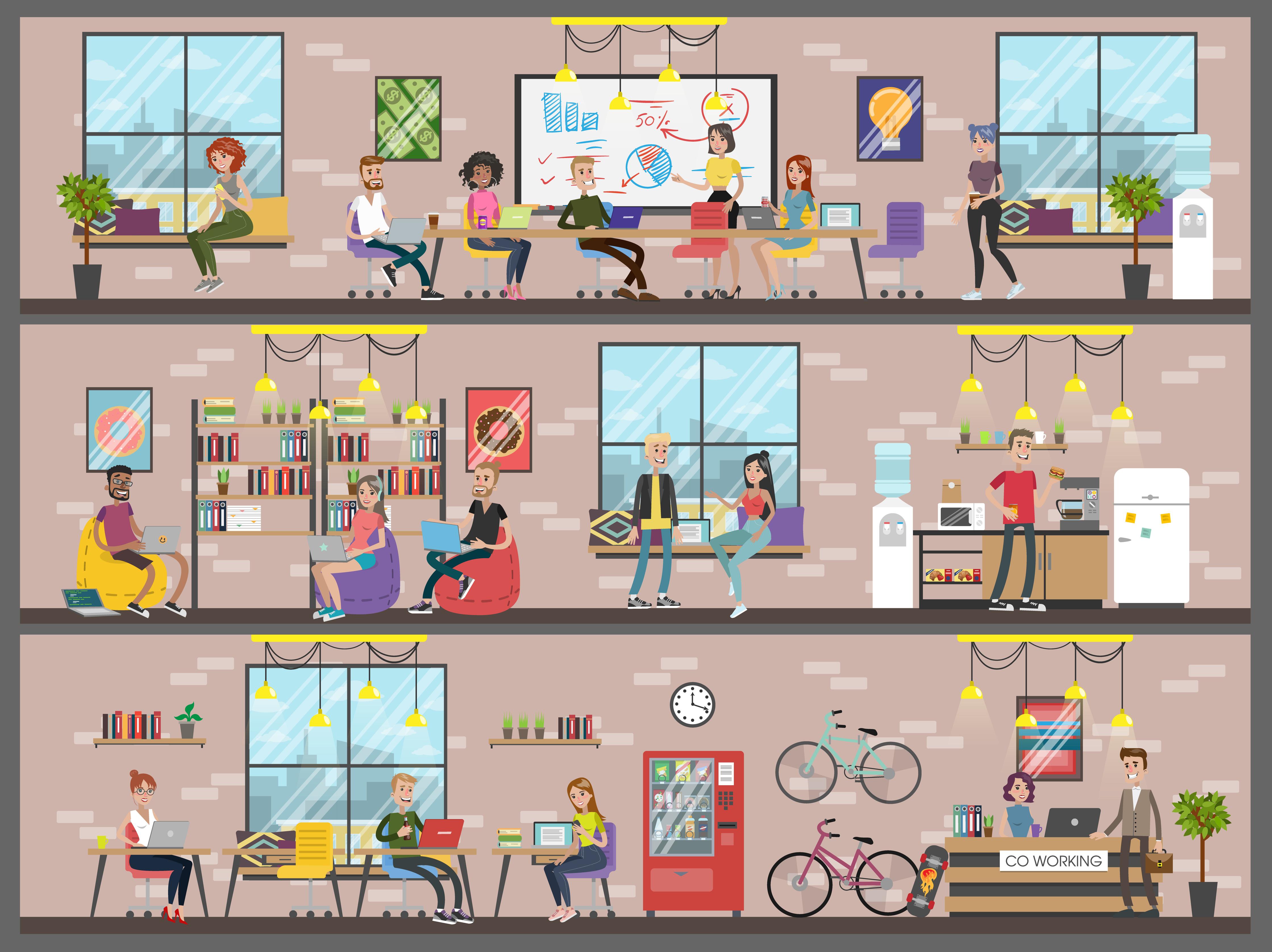 Espaces de travail : à quoi rêvent les millenials ?